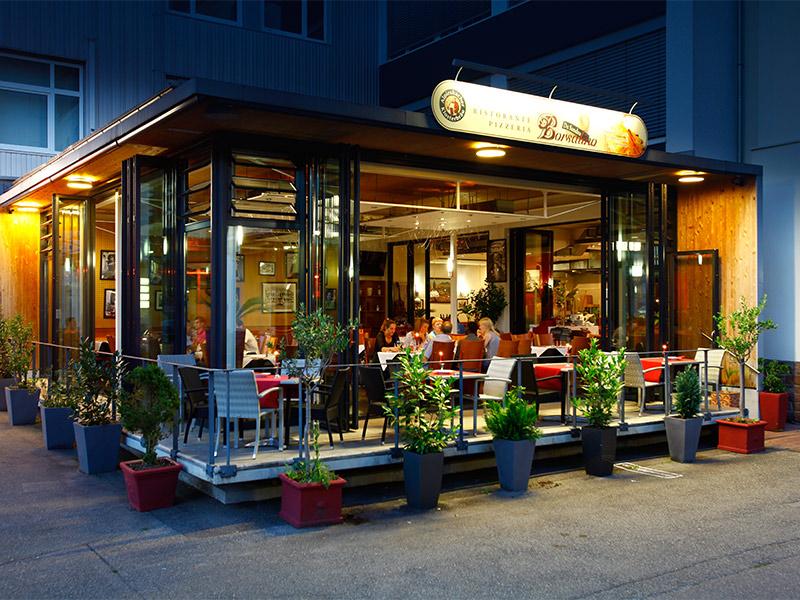 gut essen gehen karlsruhe italienische k che borsalino ristorante pizzeria an der. Black Bedroom Furniture Sets. Home Design Ideas